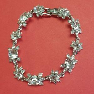 Givenchy jeweled tennis bracelet